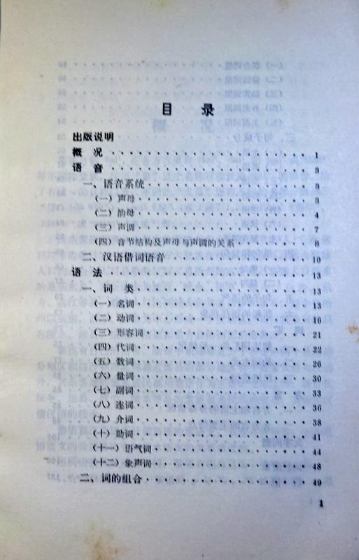 鶴本書店 : 黎語簡志* 目次・書...